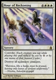 Magic the Gathering Ravnica: City of Guilds Single Hour of Reckoning - SLIGHT PLAY (SP)
