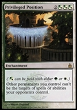 Magic the Gathering Ravnica Single Privileged Position - SLIGHT PLAY (SP)