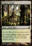 Magic the Gathering Ravnica: City of Guilds Single Temple Garden - NEAR MINT (NM)