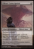 Magic the Gathering Rise of Eldrazi Single Eldrazi Conscription - SLIGHT PLAY (SP)