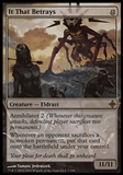 Magic the Gathering Rise of Eldrazi Single It That Betrays - MODERATE PLAY (MP)