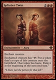 Magic the Gathering Rise of Eldrazi Single Splinter Twin - SLIGHT PLAY (SP)