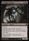 Magic the Gathering Rise of Eldrazi Single Thought Gorger FOIL - NEAR MINT (NM)