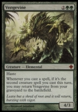 Magic the Gathering Rise of Eldrazi Single Vengevine - SLIGHT PLAY (SP)