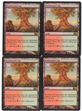 Magic the Gathering Magic 2013 PLAYSET Rootbound Crag X4 - NEAR MINT (NM)