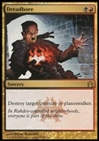 Magic the Gathering Return to Ravnica Single Dreadbore - SLIGHT PLAY (SP)