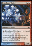 Magic the Gathering Return to Ravnica single Frostburn Weird FOIL - NEAR MINT (NM)