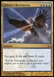 Magic the Gathering Return to Ravnica Single Sphinx's Revelation FOIL - SLIGHT PLAY (SP)
