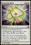 Magic the Gathering Saviors of Kamigawa Single Enduring Ideal FOIL - SLIGHT PLAY (SP)