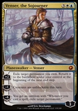Magic the Gathering Scars of Mirrodin Single Venser, the Sojourner FOIL - SLIGHT PLAY (SP)