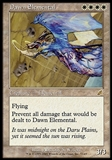 Magic the Gathering Scourge Single Dawn Elemental FOIL - SLIGHT PLAY (SP)