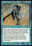 Magic the Gathering Scourge Single Day of the Dragons FOIL - SLIGHT PLAY (SP)