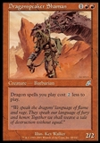 Magic the Gathering Scourge Single Dragonspeaker Shaman - SLIGHT PLAY (SP)