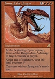 Magic the Gathering Scourge Single form of the Dragon FOIL - NEAR MINT (NM)