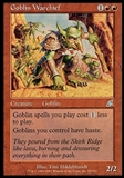 Magic the Gathering Scourge Single Goblin Warchief FOIL - MODERATE PLAY (MP)