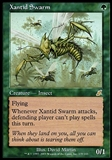 Magic the Gathering Scourge Single Xantid Swarm FOIL - MODERATE PLAY (MP)
