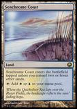 Magic the Gathering Scars of Mirrodin Single Seachrome Coast - SLIGHT PLAY (SP)