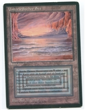 Magic the Gathering Revised Edition Single Underground Sea FBB GERMAN - MODERATE PLAY