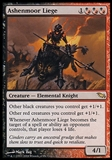 Magic the Gathering Shadowmoor Single Ashenmoor Liege - SLIGHT PLAY (SP)