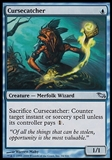 Magic the Gathering Shadowmoor Single Cursecatcher - SLIGHT PLAY (SP)