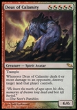 Magic the Gathering Shadowmoor Single Deus of Calamity - MODERATE PLAY (MP)