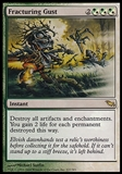 Magic the Gathering Shadowmoor Single Fracturing Gust - SLIGHT PLAY (SP)