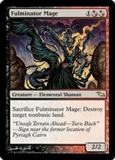 Magic the Gathering Shadowmoor Single Fulminator Mage - SLIGHT PLAY (SP)