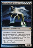 Magic the Gathering Shadowmoor Single Ghastlord of Fugue - MODERATE PLAY (MP)