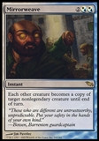 Magic the Gathering Shadowmoor Single Mirrorweave - MODERATE PLAY (MP)