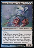 Magic the Gathering Shadowmoor Single Oona, Queen of the Fae - SLIGHT PLAY (SP)
