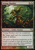Magic the Gathering Shadowmoor Single Vexing Shusher FOIL - MODERATE PLAY (MP)
