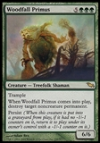 Magic the Gathering Shadowmoor Single Woodfall Primus - SLIGHT PLAY (SP)