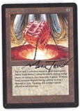 Magic the Gathering Beta SIGNED Single Mana Vault - NEAR MINT (NM)