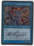 Magic the Gathering Lorwyn Single Mistbind Clique FOIL (Artist Signed) - NEAR MINT (NM)