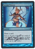 Magic the Gathering Fifth Dawn Single Serum Visions FOIL (Artist Signed) - NEAR MINT