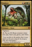 Magic the Gathering Shards of Alara Single Godsire - MODERATE PLAY (MP)