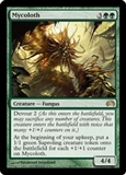 Magic the Gathering Shards of Alara Single Mycoloth FOIL - SLIGHT PLAY (SP)