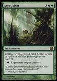 Magic the Gathering Scars of Mirrodin Single Asceticism - SLIGHT PLAY (SP)