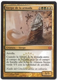 Magic the Gathering Return to Ravnica Spanish Single Armada Wurm - NEAR MINT (NM)