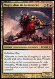 Magic the Gathering Born of the Gods SPANISH Single Mogis, God of Slaughter - SLIGHT PLAY (SP)