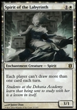 Magic the Gathering Born of the Gods Single Spirit of the Labyrinth FOIL - SLIGHT PLAY (SP)