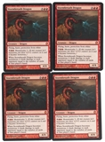 Magic the Gathering Theros PLAYSET Stormbreath Dragon X4 - SLIGHT PLAY (SP)