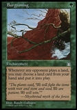 Magic the Gathering Stronghold Single Burgeoning - SLIGHT PLAY (SP)