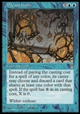 Magic the Gathering Stronghold Single Dream Halls - MODERATE PLAY (MP)