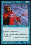 Magic the Gathering Tempest Single Counterspell - NEAR MINT (NM)