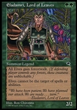 Magic the Gathering Tempest FRENCH Single Eladamri, Lord of Leaves - NEAR MINT (NM)