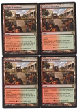 Magic the Gathering Theros PLAYSET Temple of Abandon X4 - NEAR MINT (NM)