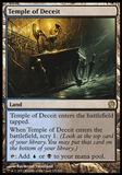Magic the Gathering Theros Single Temple of Deceit - SLIGHT PLAY (SP)