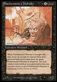 Magic the Gathering The Dark Single Frankenstein's Monster - NEAR MINT (NM)