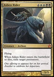 Magic the Gathering Theros Single Ashen Rider - SLIGHT PLAY (SP)
